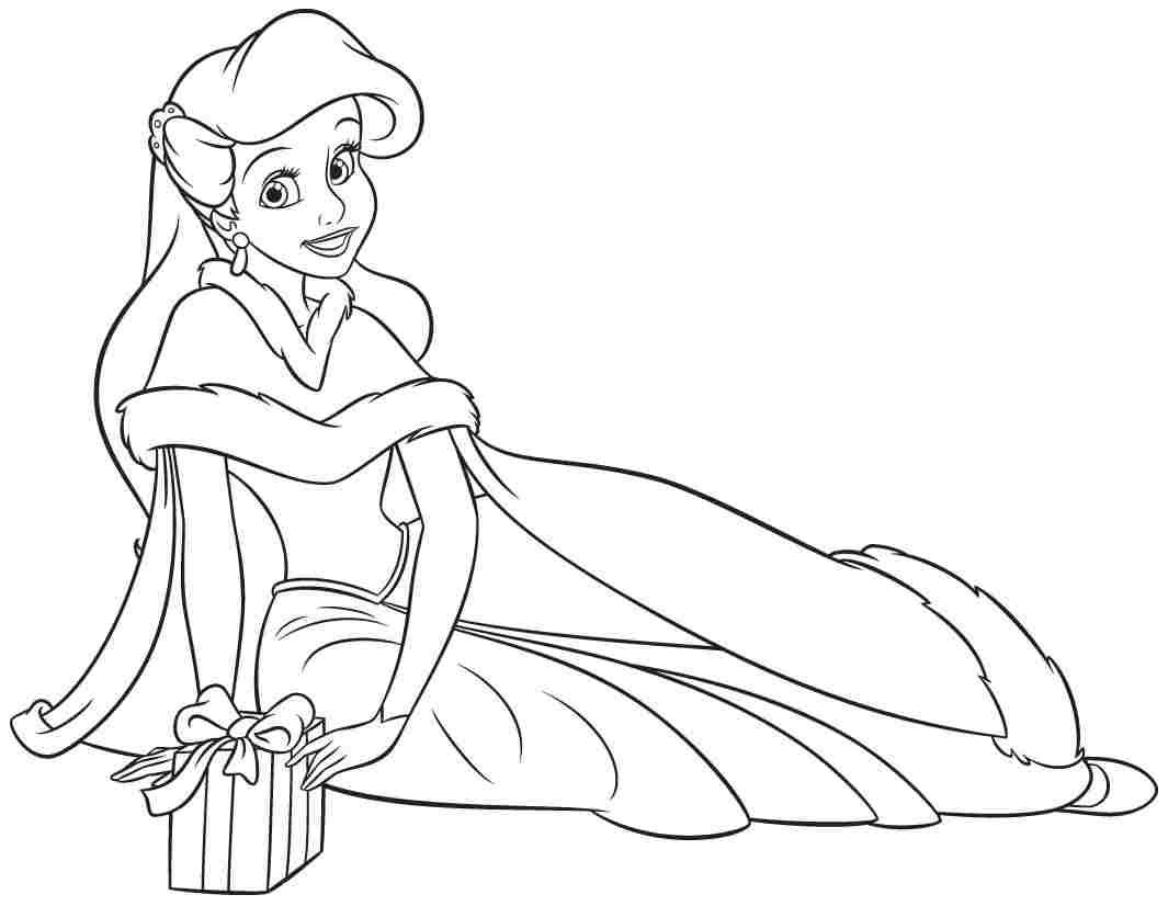 Ariel With A Gift