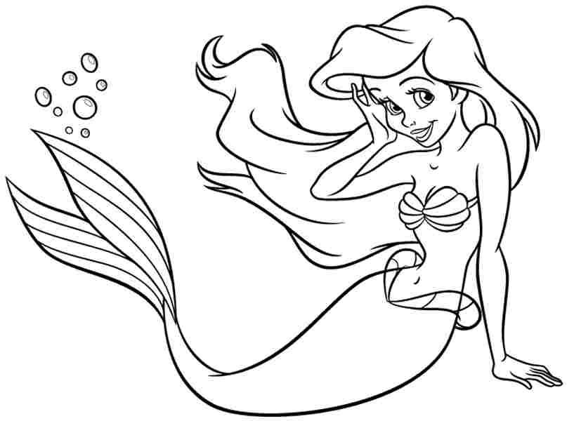 Princess Ariel Smiling