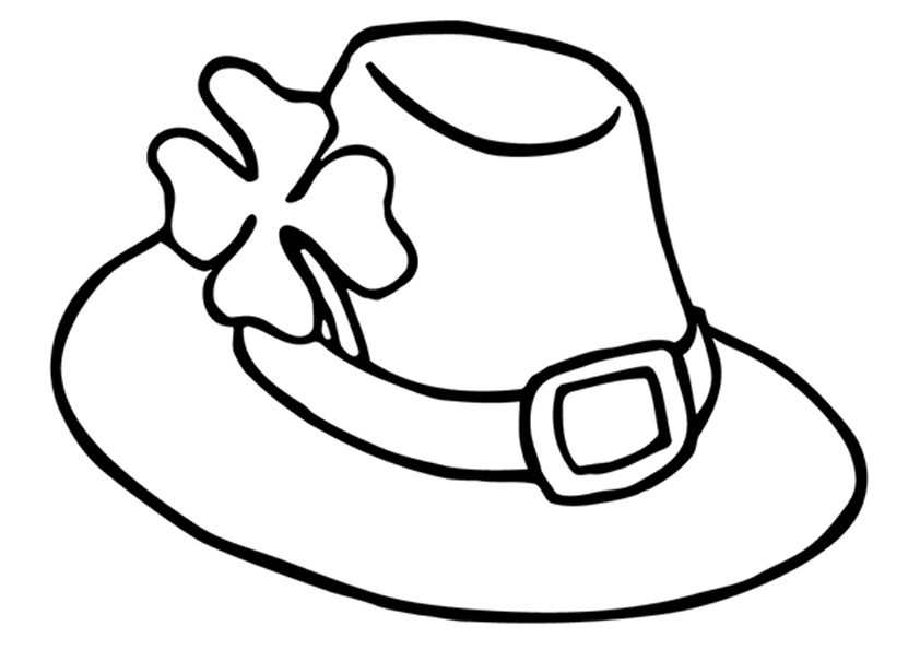 A Hat With Four Leaf Clover