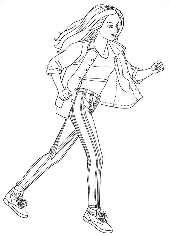 Barbie Running