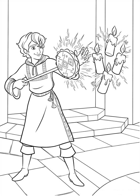Mateo Using Magic