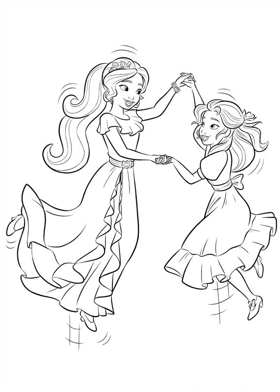 Elena And Isabel Dancing