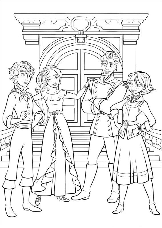 Mateo, Elena And Naomi, Gabe
