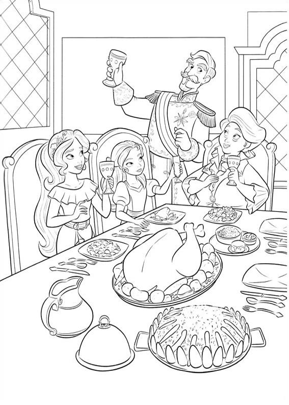Family Dinner Of Elena