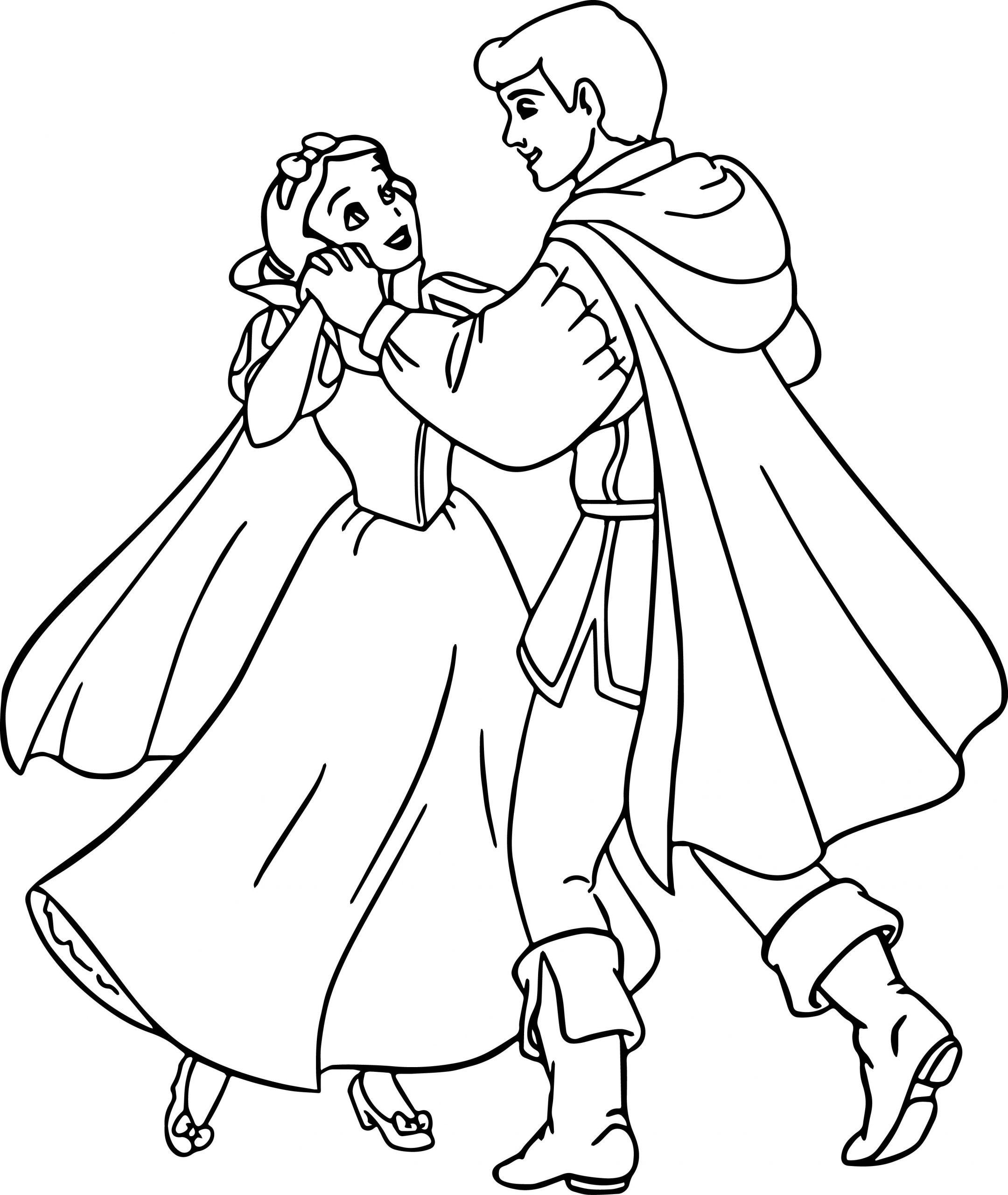 Dancing Snow White