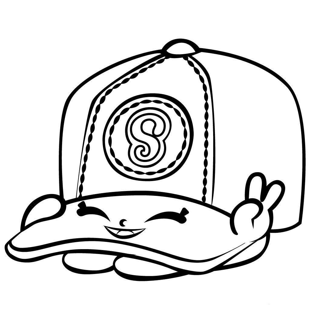Cartoon Baseball Hat