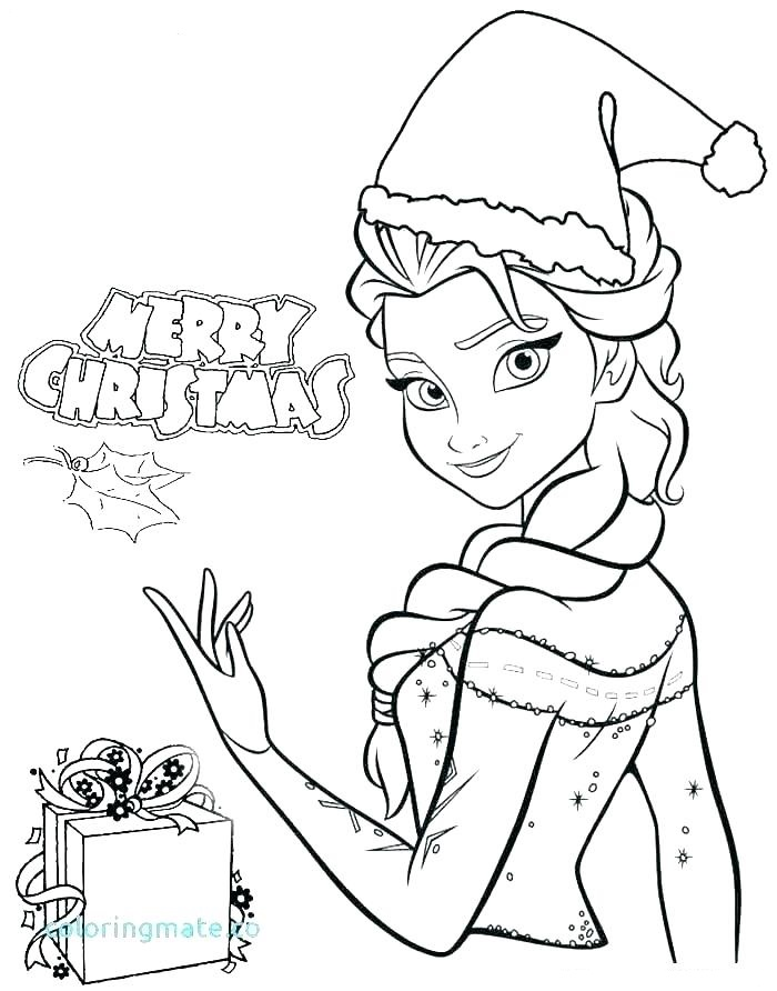 Merry Christmas With Elsa