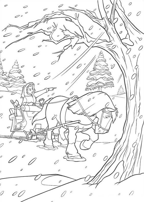 Belle In The Winter