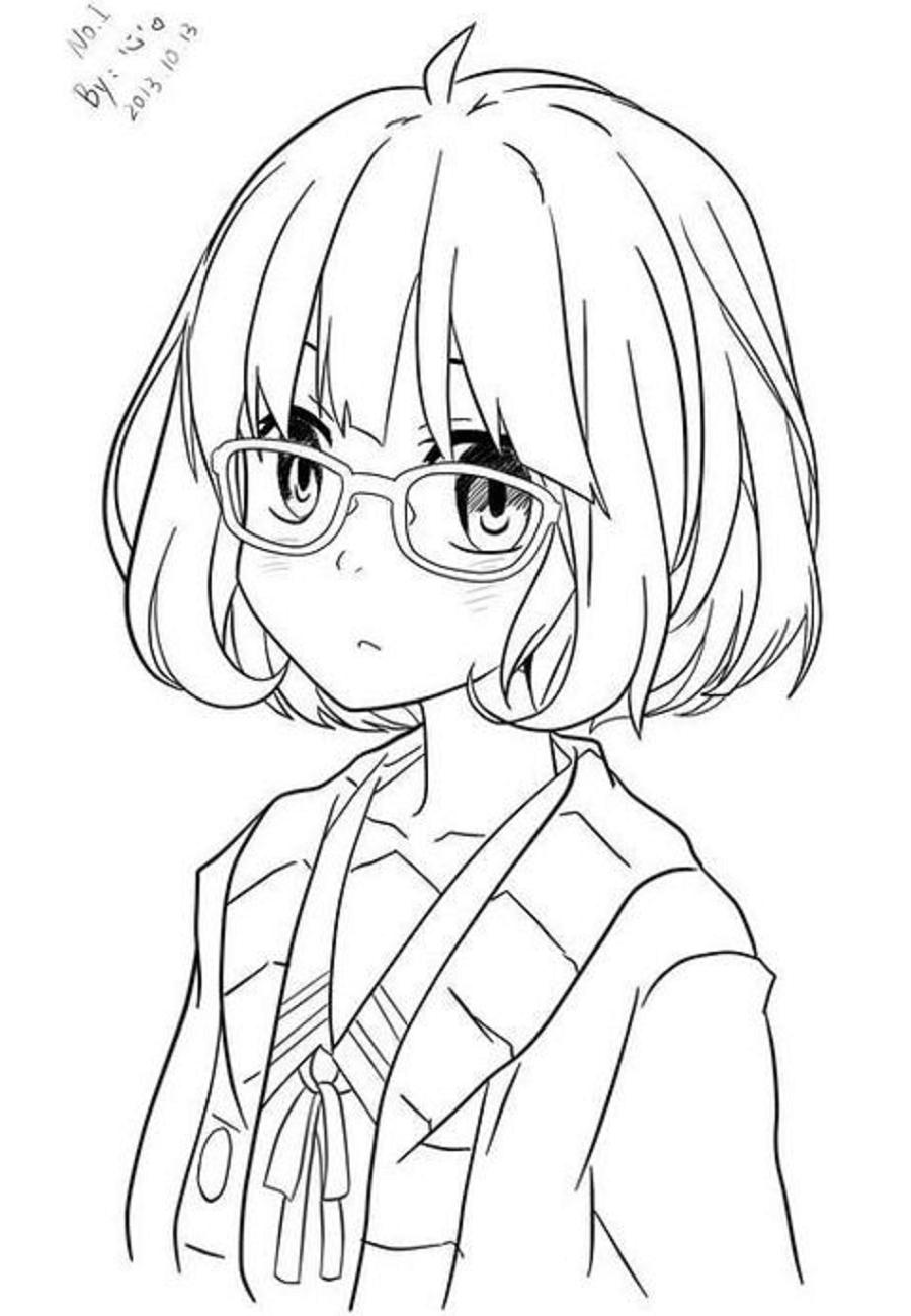 Kuriyama Mirai In Anime