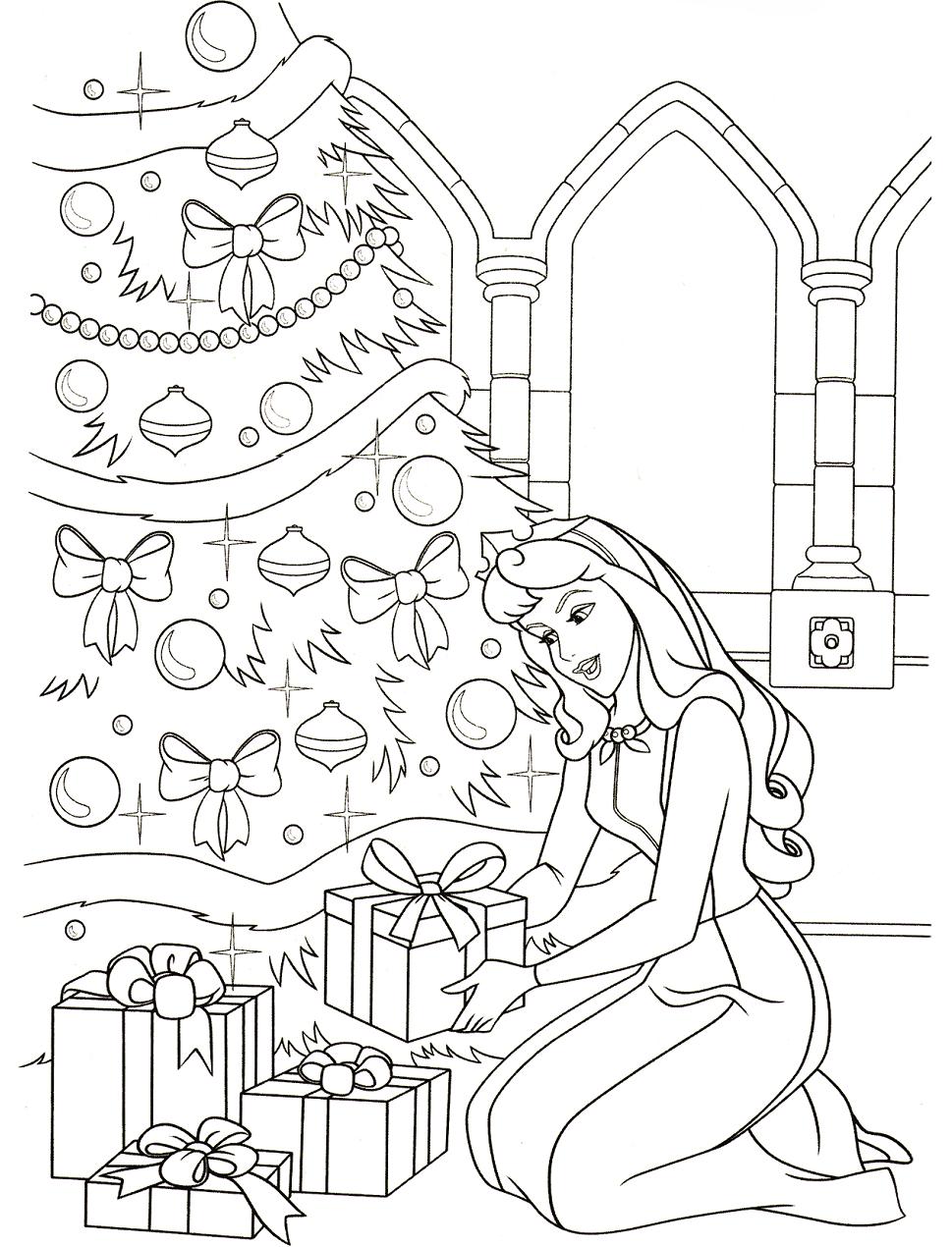 Princess Aurora On Christmas