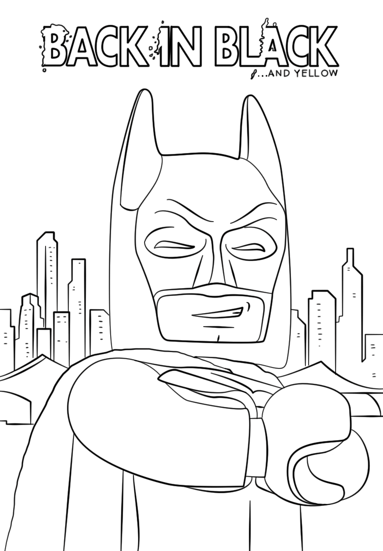 Lego Batman Smiling