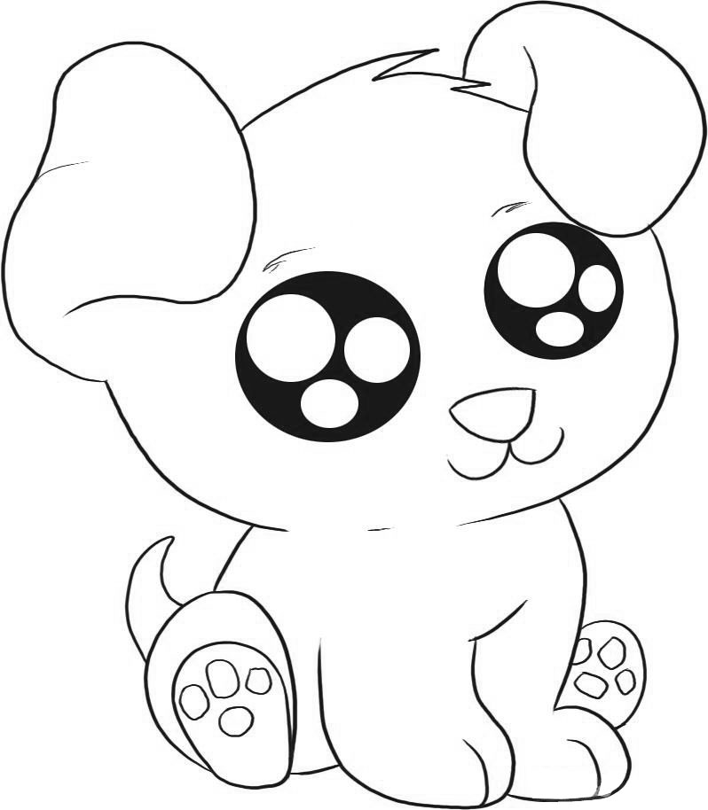 Unique Puppy Coloring - Play Free Coloring Game Online