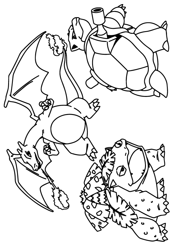 Pokemon Advance Coloring - Play Free Coloring Game Online
