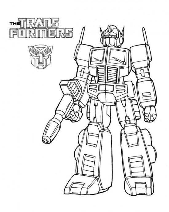 transformers optimus prime coloring  play free coloring
