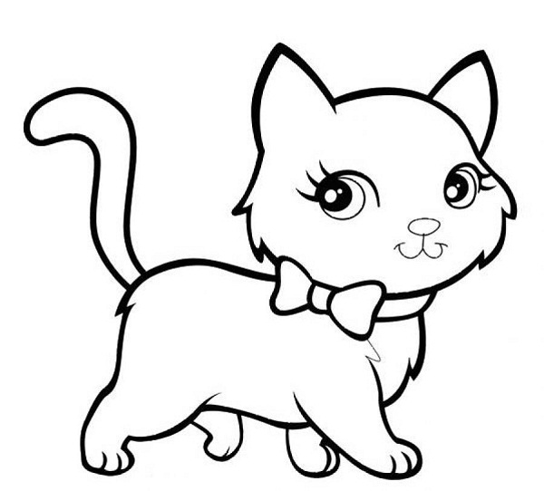 Cute Cat Coloring - Play Free Coloring Game Online