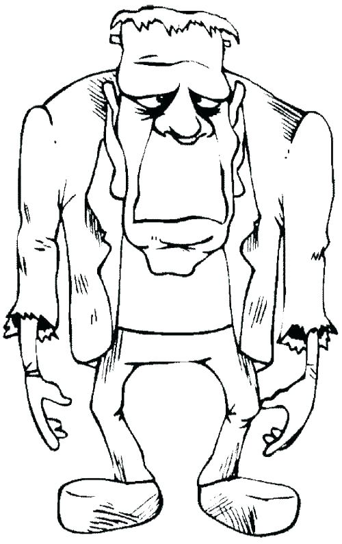 Boring Frankenstein Coloring - Play Free Coloring Game Online
