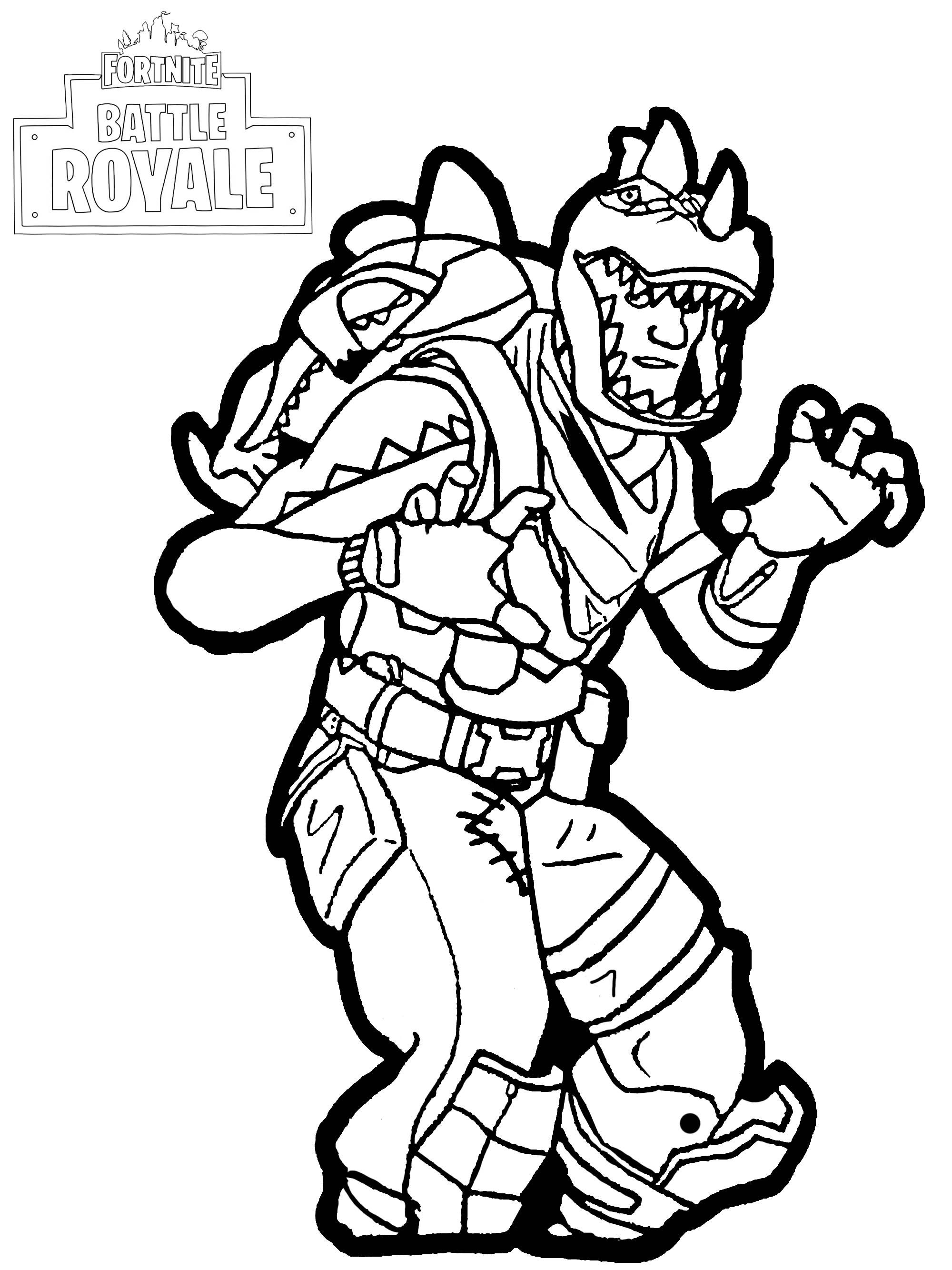 Rex In Fortine Coloring Play Free Coloring Game Online