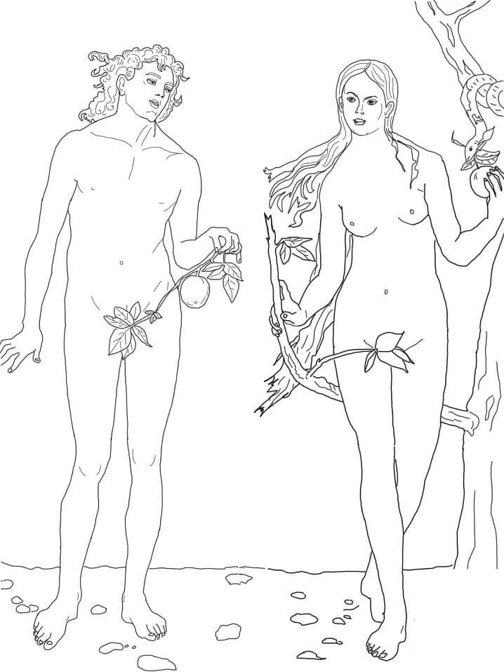 Adam and Eve the First Sin