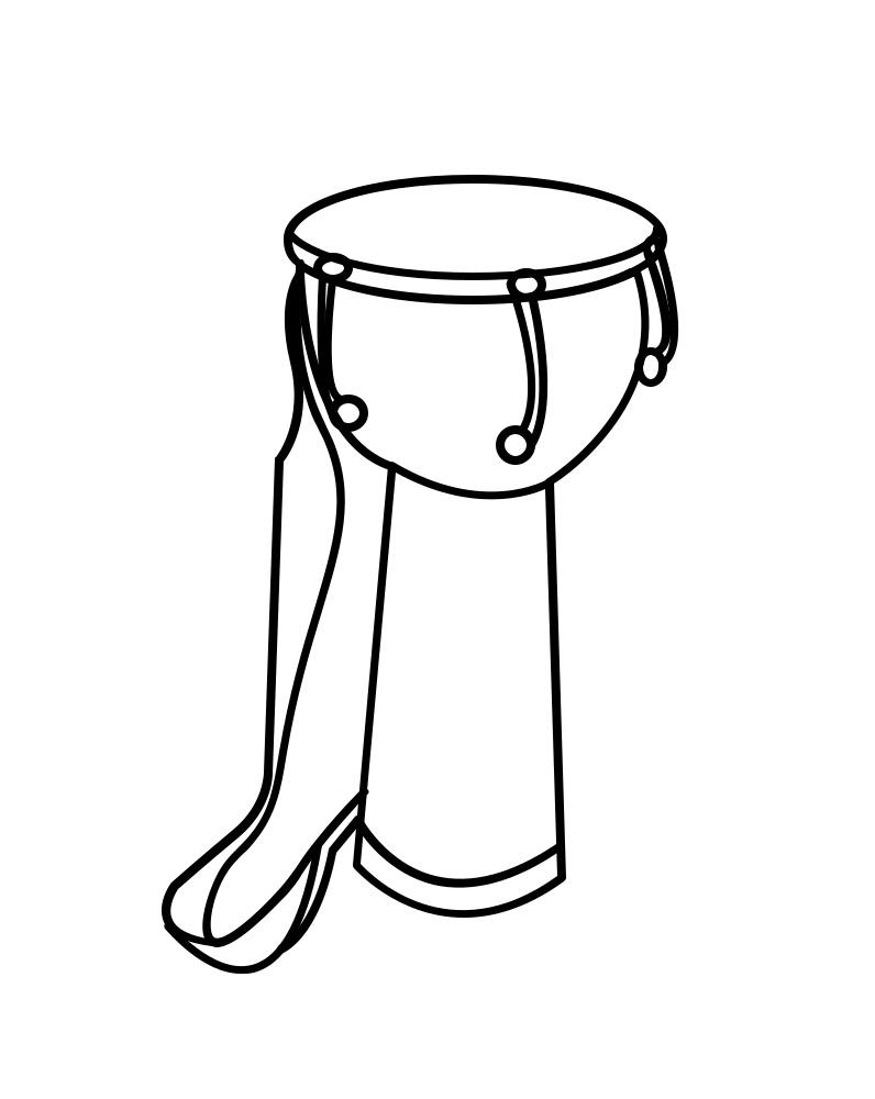 African Drum Djembe