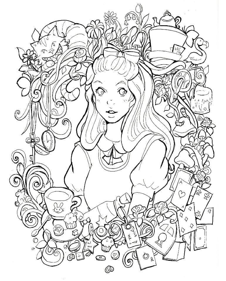 Alice Anime Girl