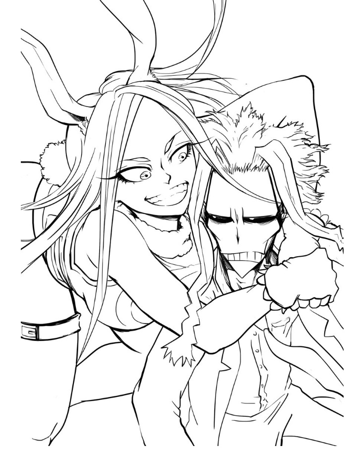 All Might and his mate