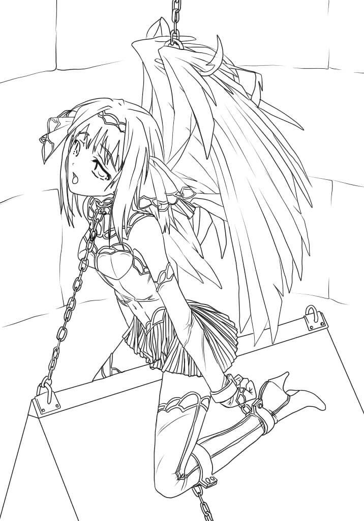 Anime Slave Angel
