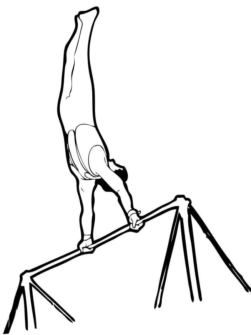 Artistic Gymnastics Horizontal Bar