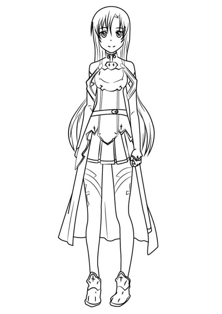 Asuna Yuuki from Sword Art Online