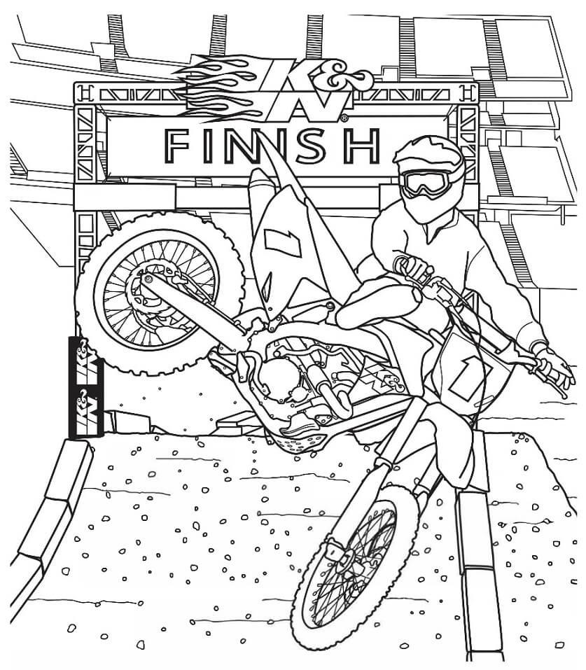 Awesome Dirt Bike