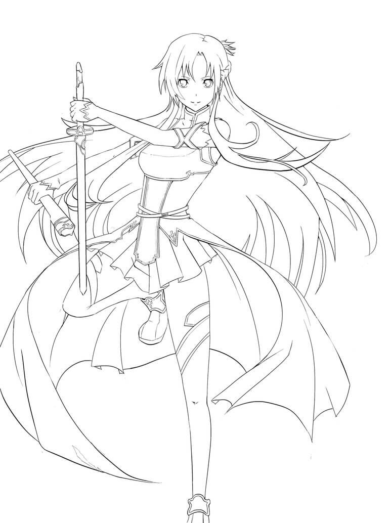 Beautiful Asuna