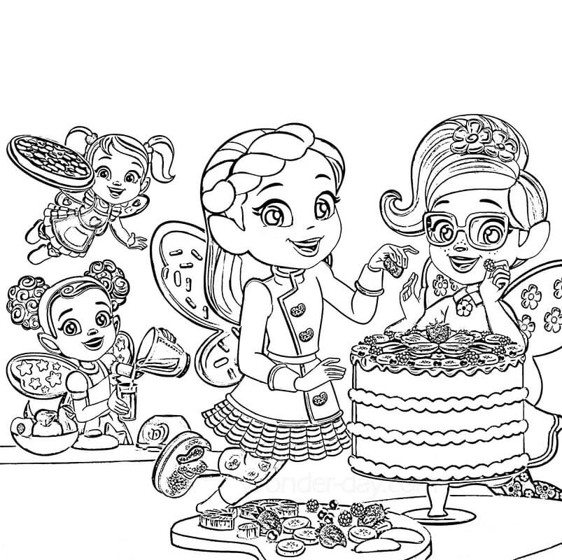Characters from Butterbean's Cafe 2