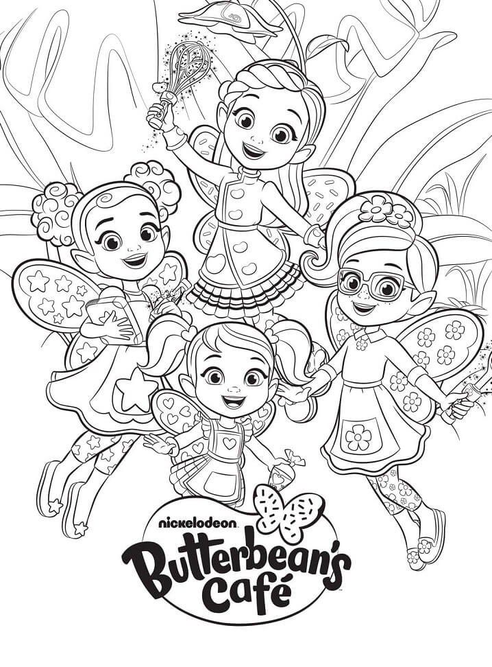 Characters from Butterbean's Cafe 3