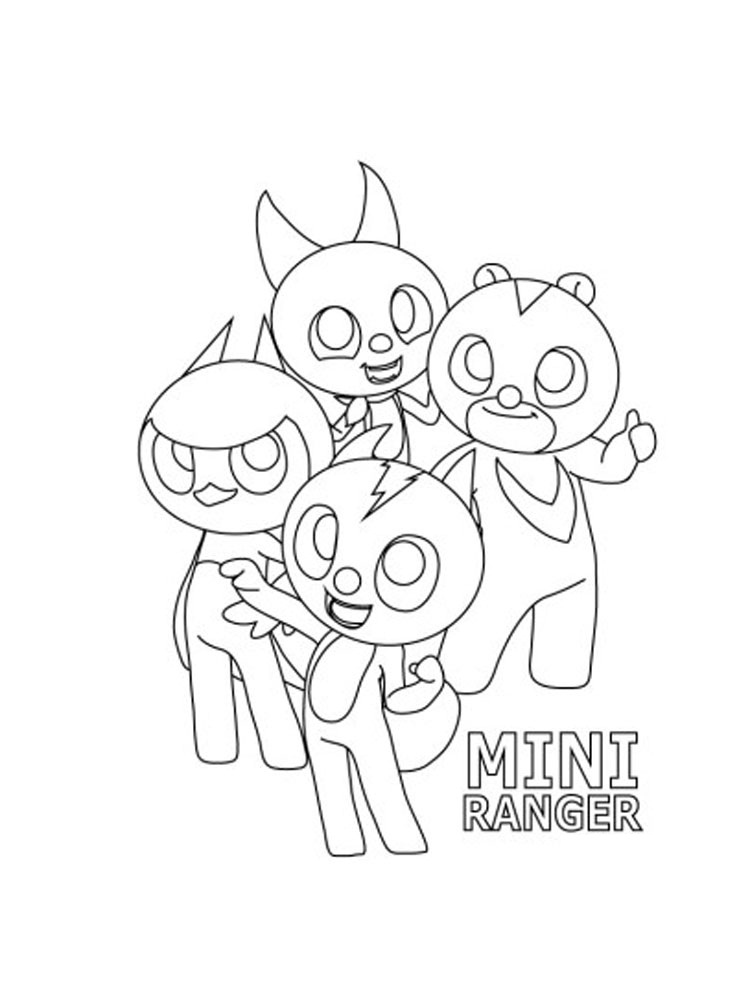 Characters from Miniforce 1