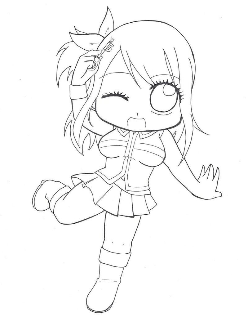 Chibi Lucy Heartfilia 1