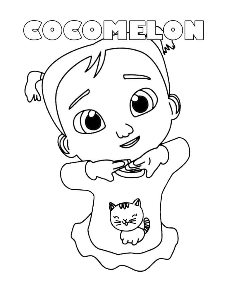 Cocomelon Cece