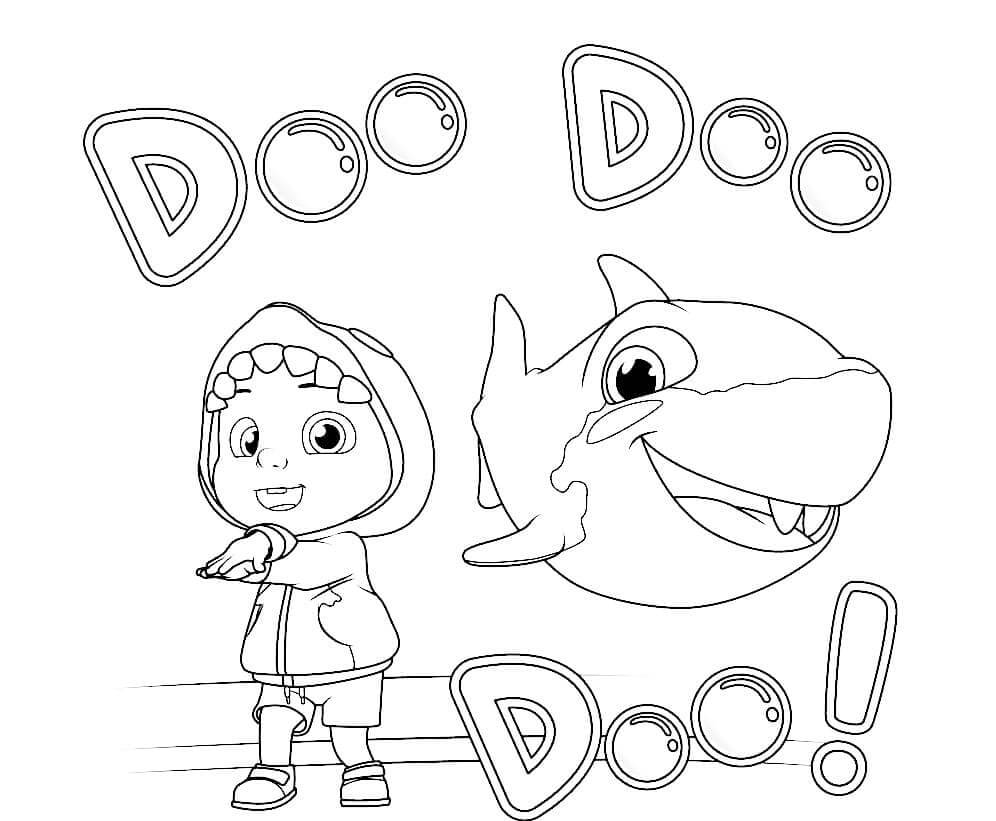 Cocomelon and Baby Shark