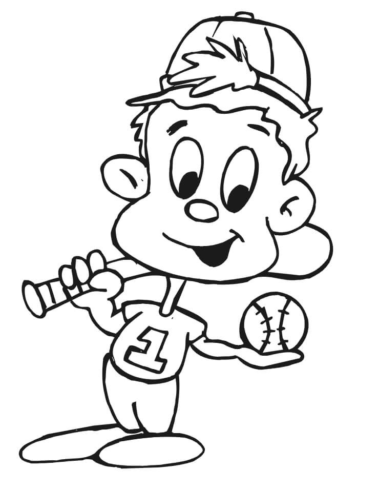 Cute Baseball Player