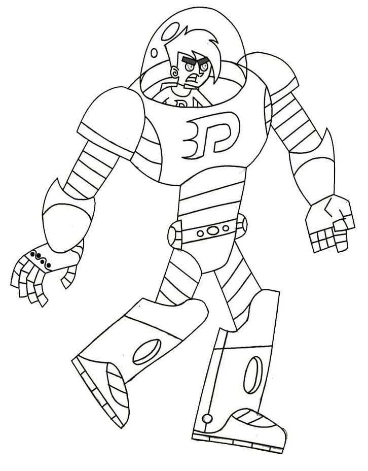 Danny Phantom in Robot