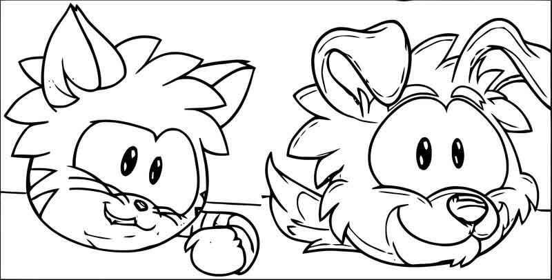 Dog and Cat Puffle