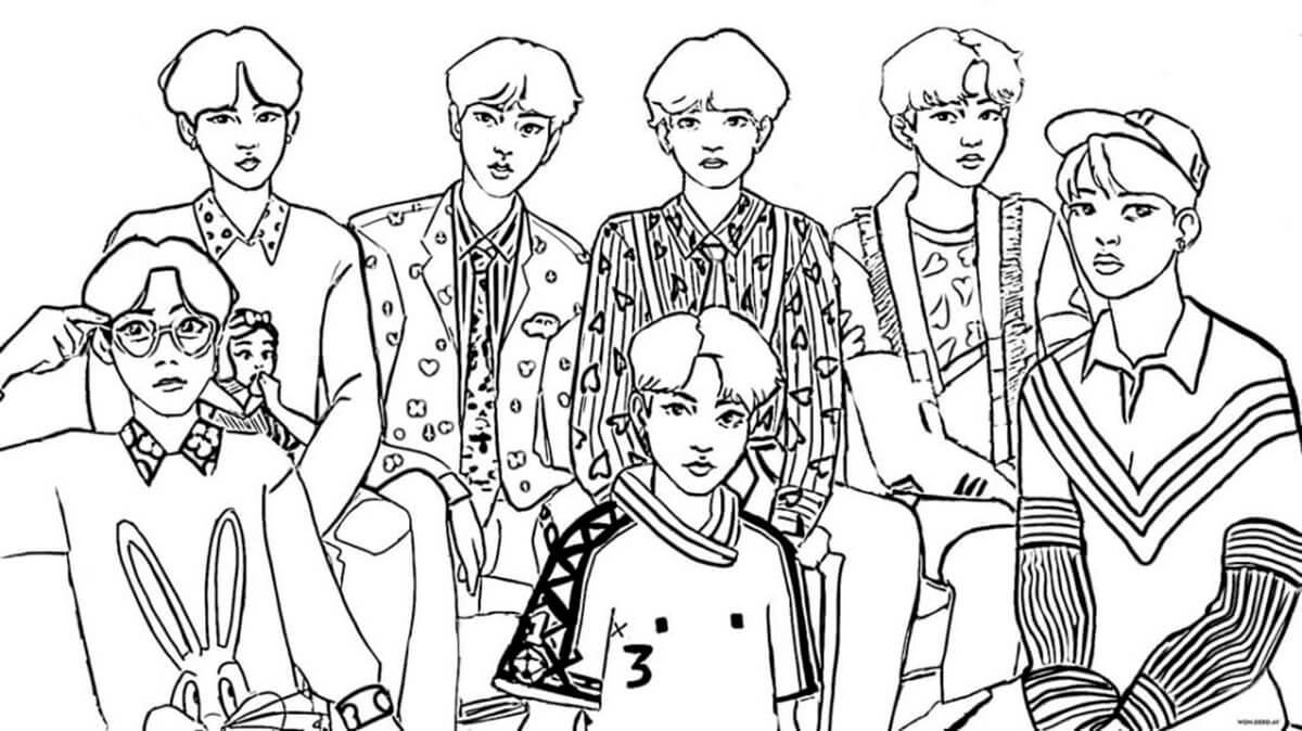 Free BTS Band