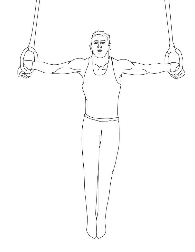 Gymnastic Ring Performance