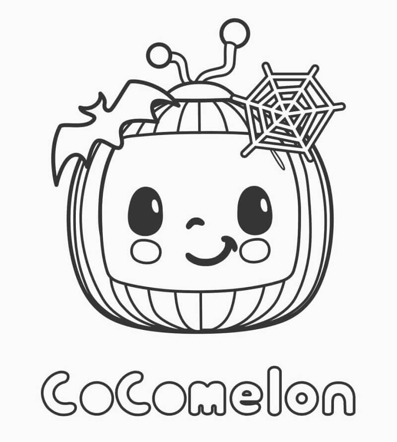 Halloween Cocomelon Logo