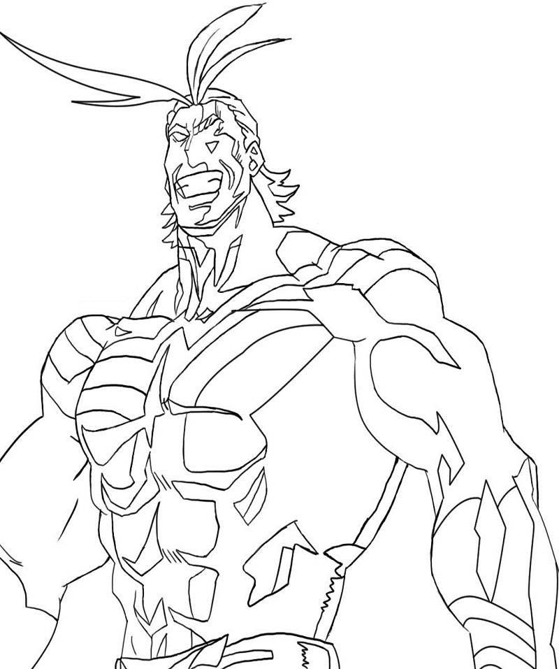 Happy All Might