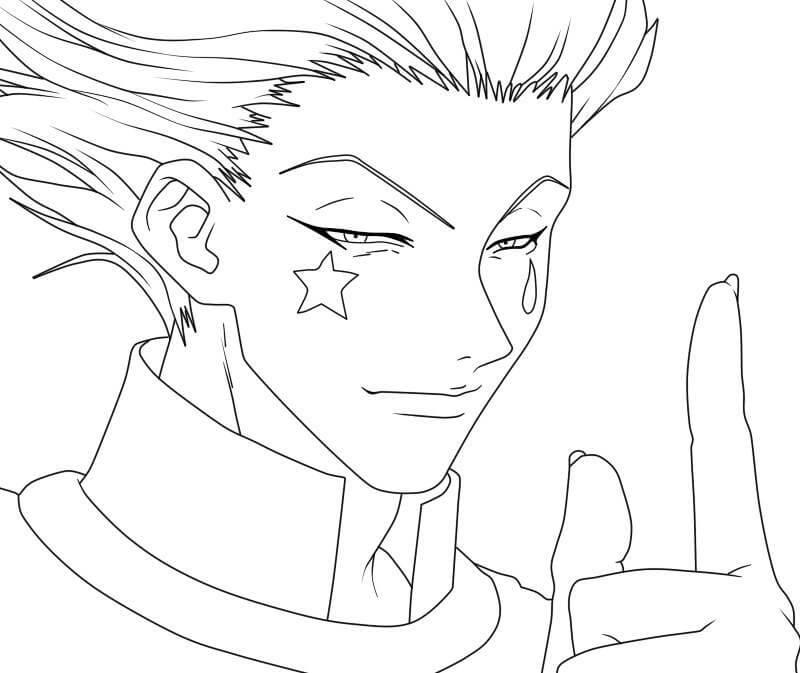 Hisoka from Hunter x Hunter
