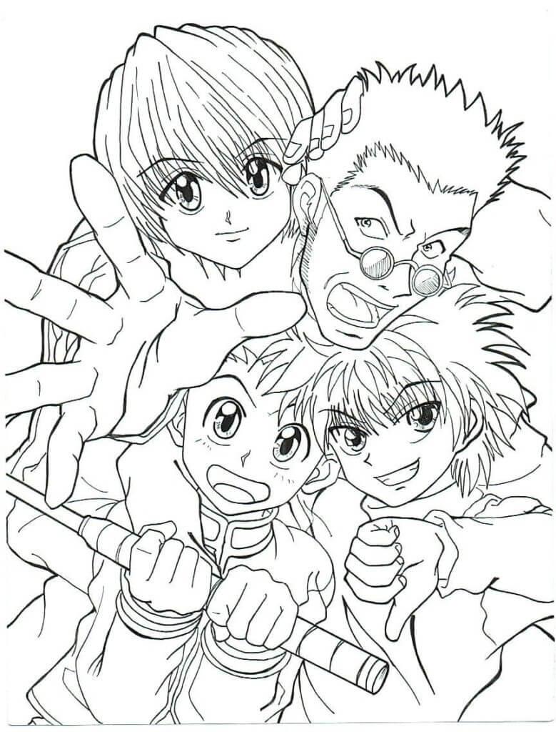 Hunter x Hunter Characters 3