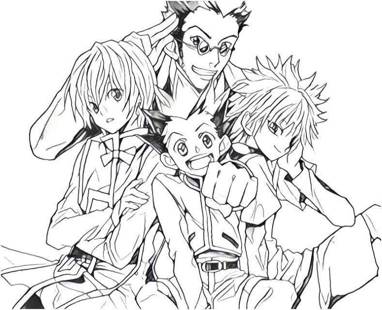 Hunter x Hunter Characters