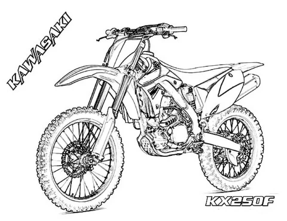 Kawasaki KX250F Dirt Bike