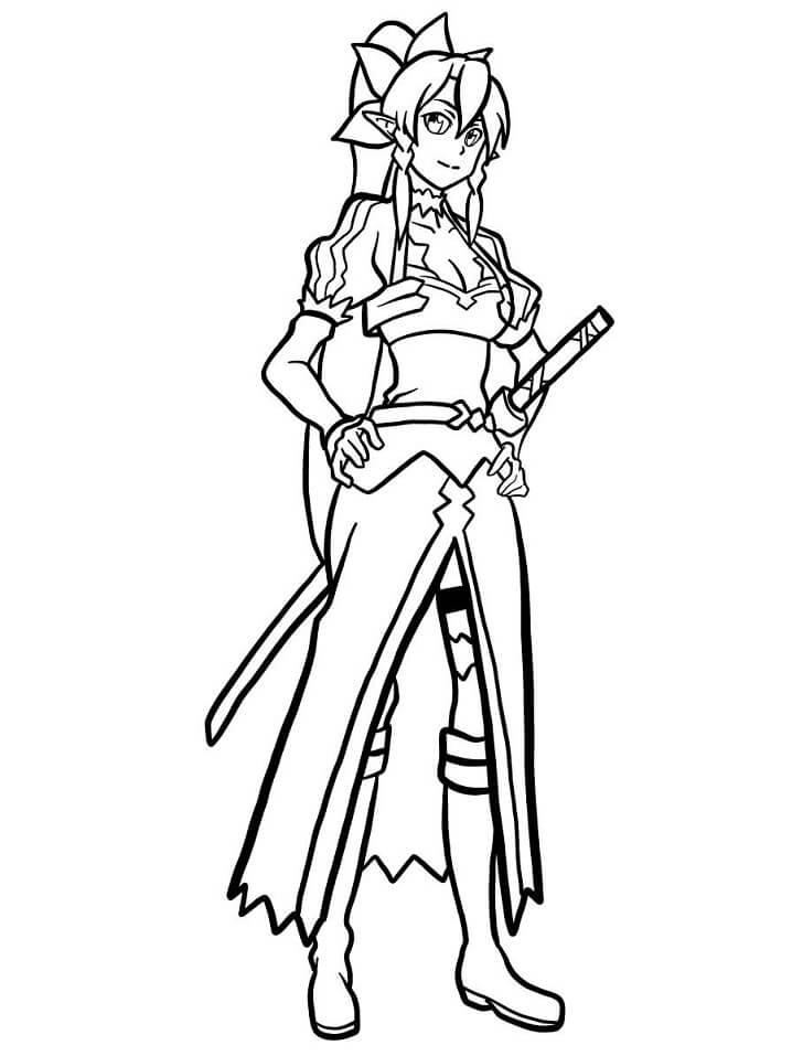 Leafa Sword Art Online