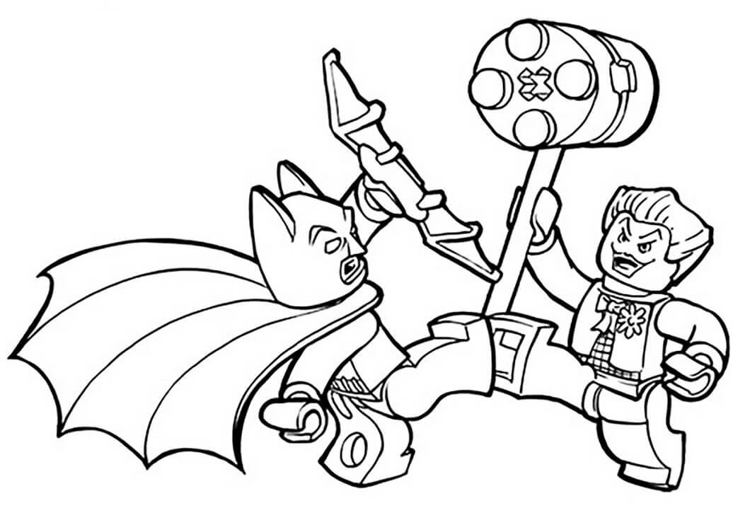 Lego Batman and Joker