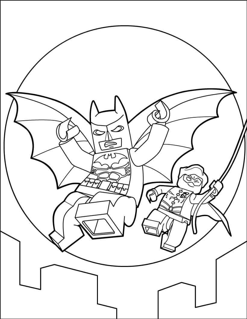 Lego Batman and Robin 1